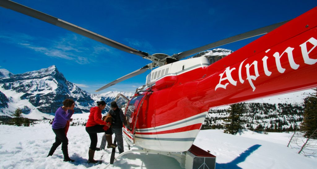 Banff Royal Canadian Helicopter Tour